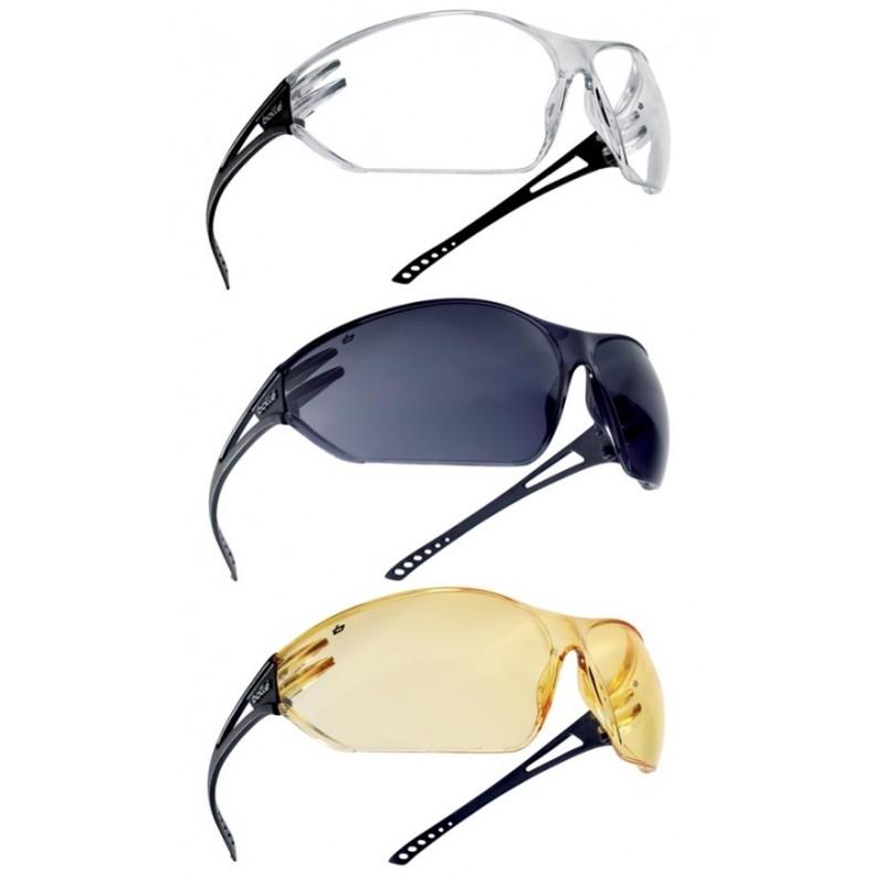 Bolle Slam Anti-Fog Anti-Scratch Smoke Lens Panoramic Safety Glasses