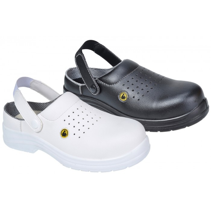 Compositelite™ ESD Perforated Safety Clog SB AE