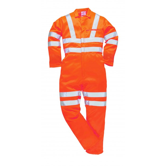 Hi-Vis Poly-cotton Coverall RIS