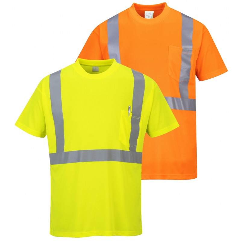 Hi Vis Pocket T Shirt