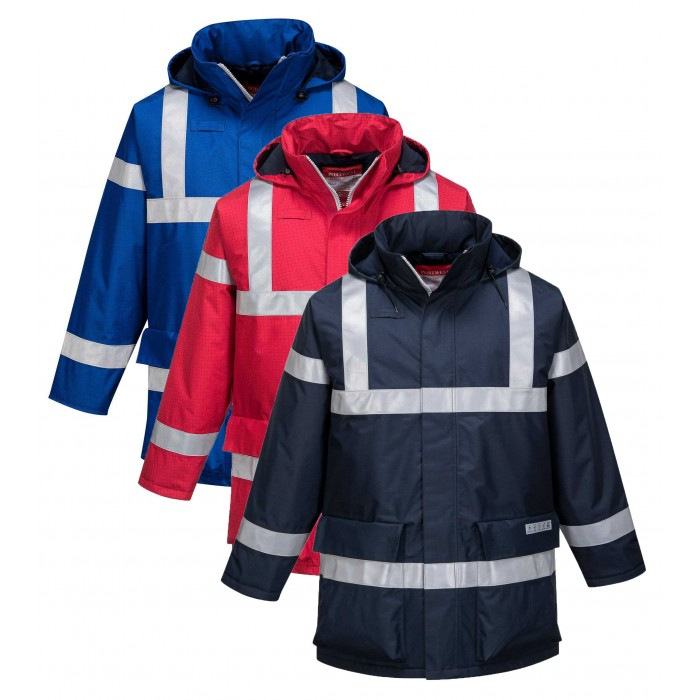 Bizflame Rain AntiStatic FR Jacket